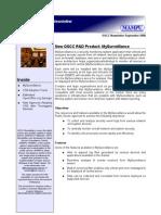 OSCC MAMPU September 2008 Newsletter