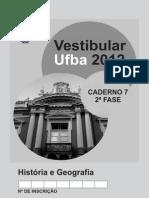 2 fase ufba 2012
