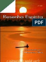 Resenha Espírita on line 68
