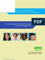 NYC Administration for Children's Services 2011-2013 Strategic Plan, Dec 2011