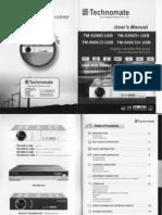 Technomate 5000 Manual