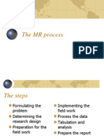 The MR Process