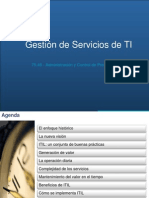 Gestion de Servicios de TI V1.1
