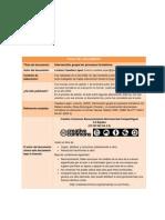 Intervención grupal en procesos formativos