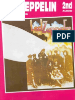 Guitar - Tab Book - Led Zeppelin II(Bass,Guitar,Vocal,Drum)