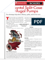 Horizontal Split-Case Centrifugal Pumps