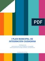 Plan Municipal de Integración Ciudadana. Ayuntamiento dede Parla