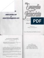 El Evangelio Segun Jesucristo John MacArthur