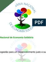 Apresentacao Rumo a v Plenaria Nacional de Economia Solidaria