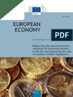 EU. Macroeconomic Resilience of Industrial Sectors