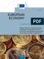 EU. Macroeconomic Resilience of Industrial Sectors