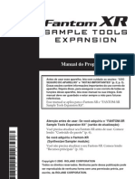 Fantom XR Sample Tools PT