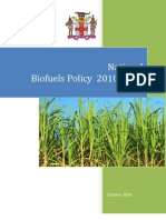 Jamaica (Ministry of Energy and Mining), National Biofuels Policy 2010-2030,  10-2010