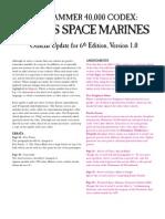 m2420309a Chaos Space Marine 6th