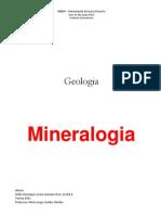 Relatorio Mineralogia