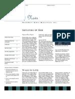 Imitators of God Vol1 Issue 3 August 2012
