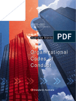 As 8002-2003 Corporate Governance - Organizational Codes of Conduct