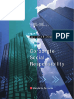 As 8003-2003 Corporate Governance - Corporate Social Responsibility