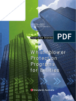 As 8004-2003 Corporate Governance - Whistleblower Protection Programs for Entities