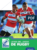Laws of Rugby - 2012