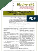 RA Bio Divers Ité _argumentaire & Ressources Documentaires RA2007