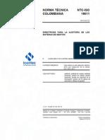 NTC-ISO 19011-2012