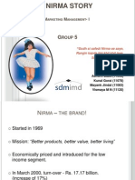 The Nirma Story - Group 5