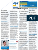 Pharmacy Daily for Mon 06 Aug 2012 - National heart attack register, Stronger Code penalties, Second phase audit and much more...