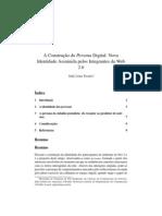 A Construção do Persona Digital_ Nova Identidade Assumida pelos Integrantes da Web 2.0