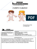 Planificacion Completa El Cuerpo Humano (Rosibel)