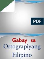 Ortograpiyang Filipino
