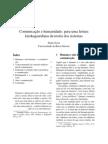 Comunicação e humanidade_ para uma leitura kierkegaardiana da teoria dos sistemas