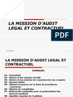 1-La Mission d'Audit Legal Et Contractuel