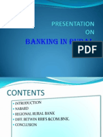 PRESENTATION in Rural Banking