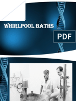 Whirlpool Baths & Hubbard Tank & Pool Therapy