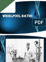 Whirlpool Baths & Hubbard Tank & Pool Therapy