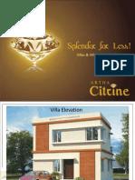 Villa in Bangalore Citrine