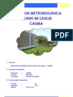 Temperaturas en Casma