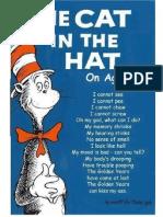 Dr Seuss - I Love My Job Poem