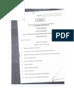 CE-1204- CTEP question paper