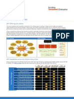 CRM framework-SAP offerings for utilities