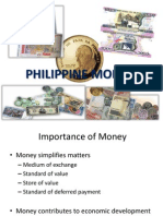 Finance 1, Philippine Money