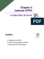 Ch5.Comb ATPG