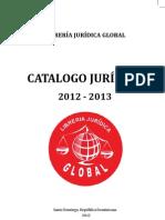 Catalogo Librería Jurídica Global 2012-2013