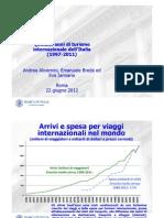 Quindici anni di turismo internazionale dell'Italia