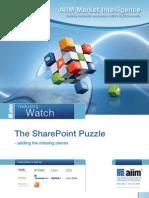 AIIM IW SharePoint Puzzle Survey 2012