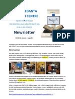 BRC Newsletter #6 Jan-July 2012 Final