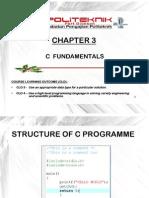 Chp 3 - C Fundamentals