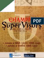 Champion Supervisors