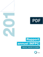INFPC - Rapport Annuel 2011